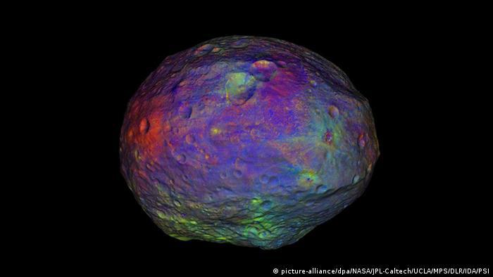 Asteroid Vesta bunt