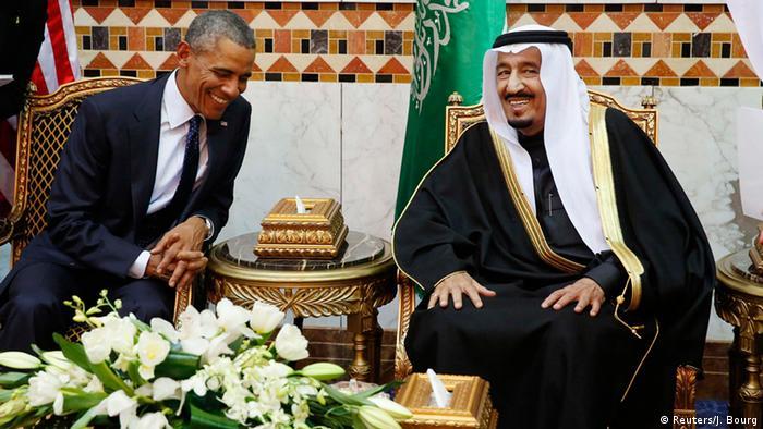 Obama in Saudi Arabien 27.01.2015