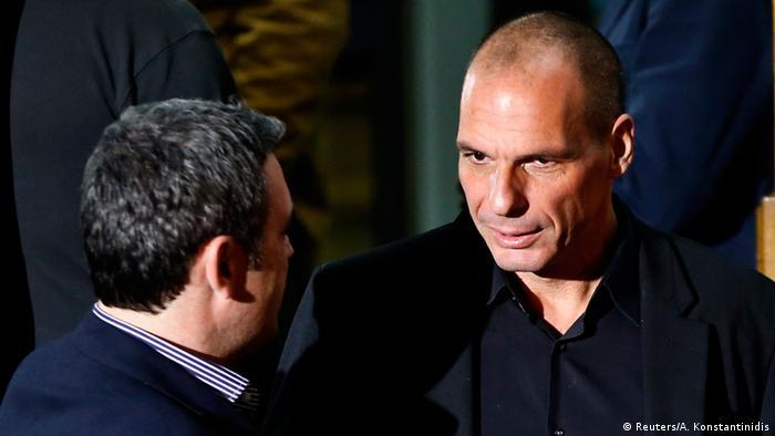 Giannis Varoufakis Finanzminister 25.01.2015 Athen