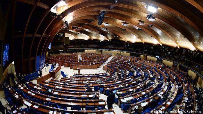 Sitzung Europarat in Straßburg 27.01.2015 (picture-alliance/dpa/V. Fedorenko)