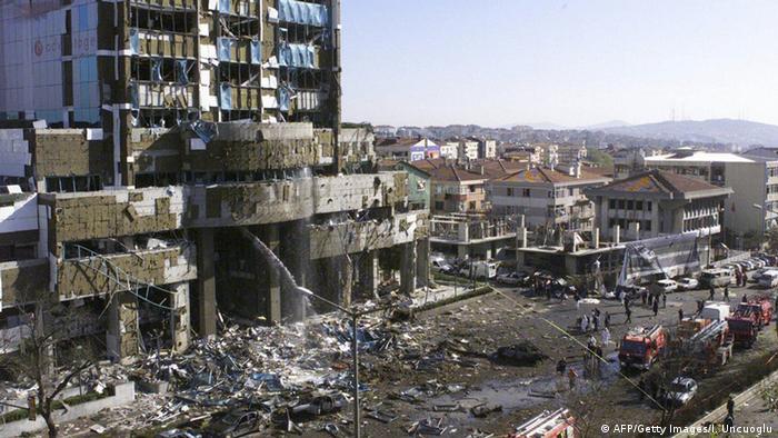 Anschlag auf HSBC Bank und Britische Botschaft in Istanbul (AFP/Getty Images/I. Uncuoglu)