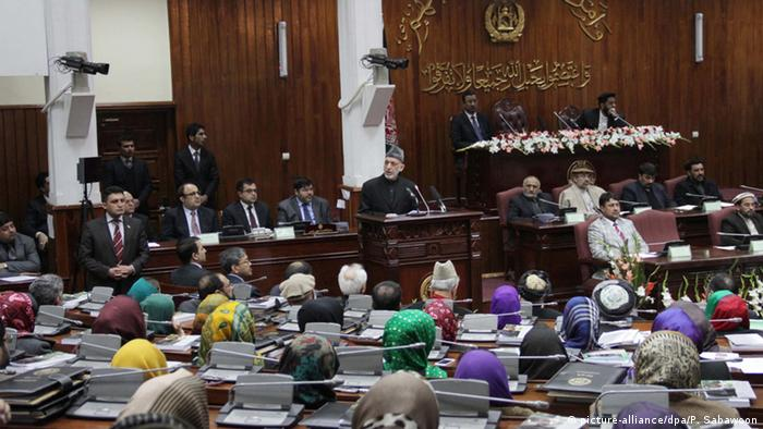 Afghanistan Parlament ARCHIV 2014