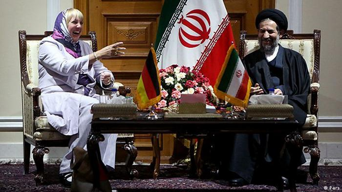 Claudia Roth Reise in den Iran