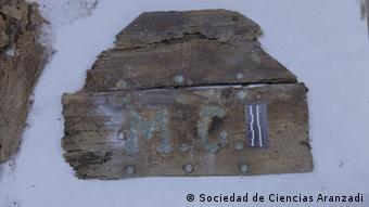 Überreste in der Krypta des Klosters der Unbeschuhten Trinitarier