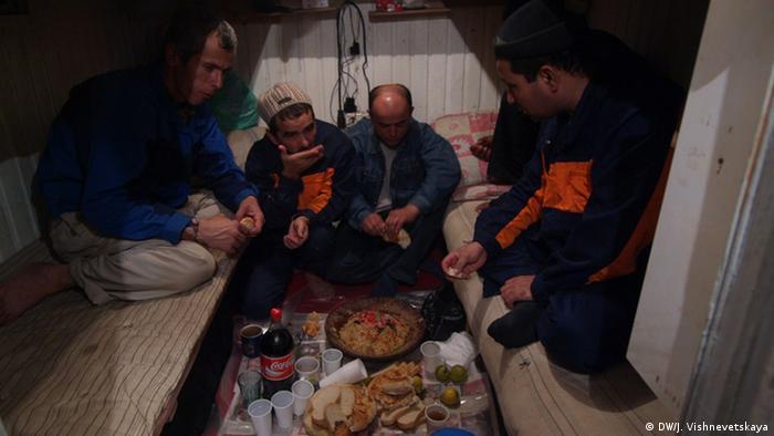 Трудовые мигранты в Москве
