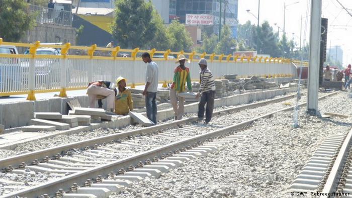 Addi Abeba Straßenbahn