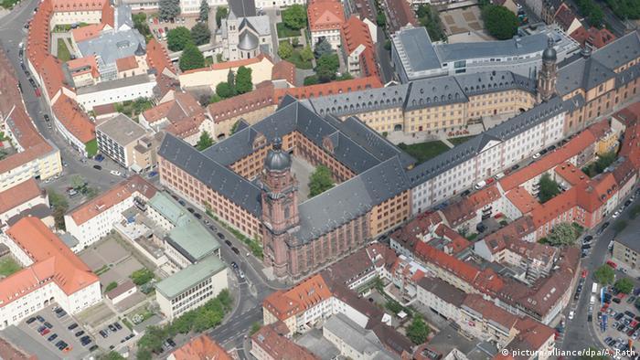 Исторические корпуса Вюрцбургского университета