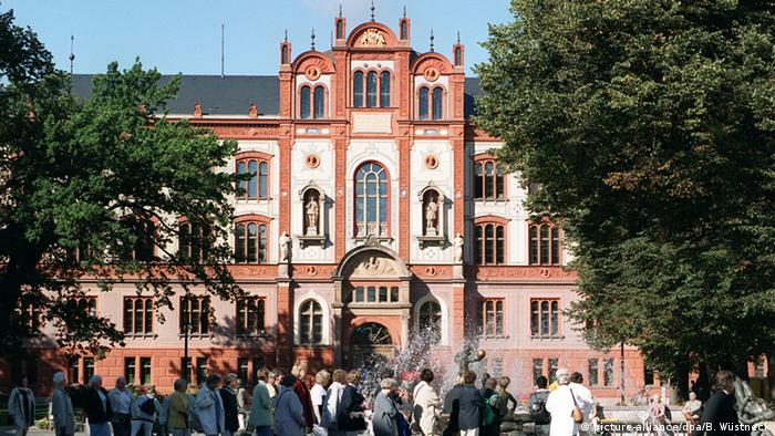 Главный корпус Ростокского университета