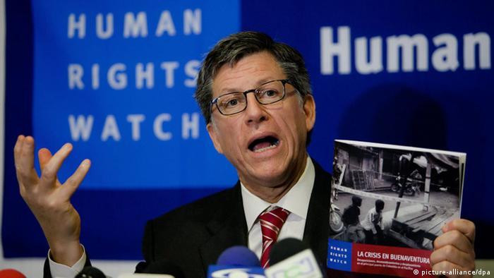 José Miguel Vivanco, director de la división de las Américas de Human Right Watch.