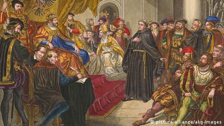 Luter pred carem