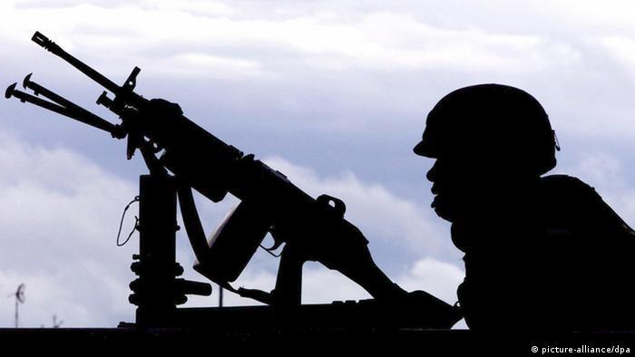 Symbolbild Munitionen Waffenlieferung