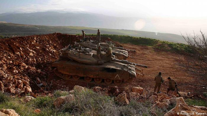Israeli forces responded by shelling parts of southern Lebanon