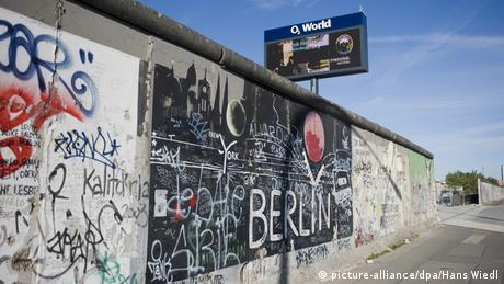 East Side Gallery Berlin Mauer Verfall