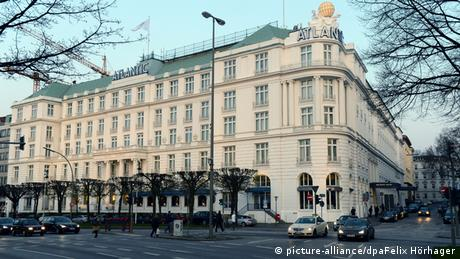 Kempinski Hotel Atlantic Hamburg - film location for Tomorrow never dies and A most wanted man