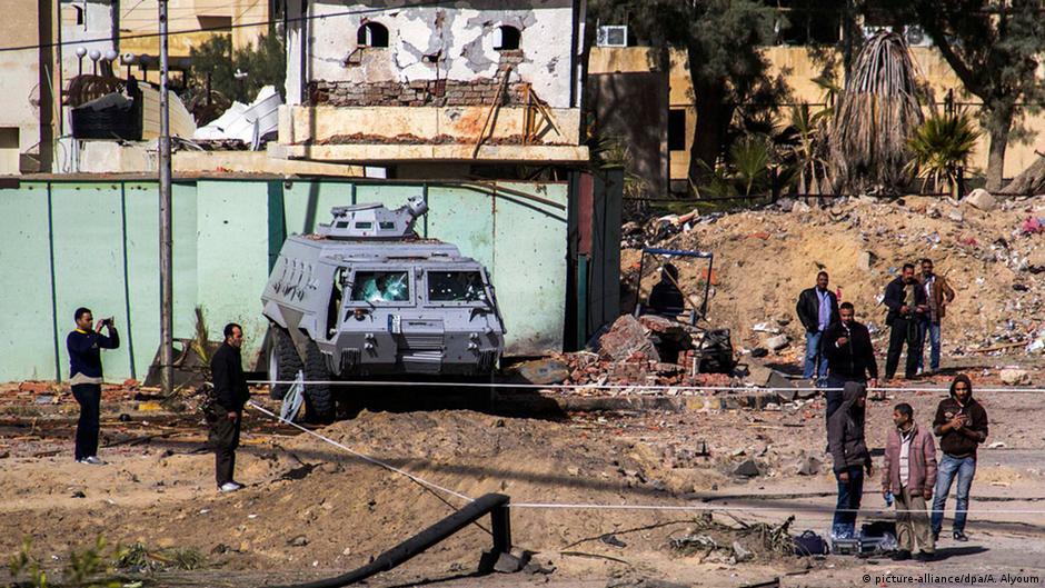الجيش المصري يكثف نشاطه في سيناء بعد الهجمات الأخيرة | DW | 30.01.2015
