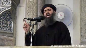 Irak - IS Führer Abu Bakr al-Baghdadi
