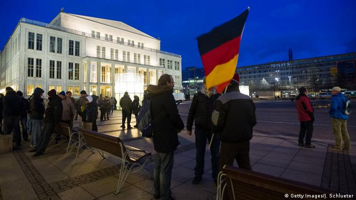 LEGIDA demonstration in Leipzig