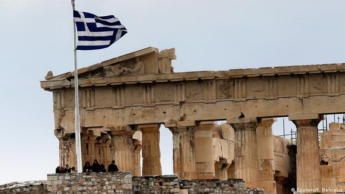 Griechenland Parthenon Tempel in Athen 30.01.2015