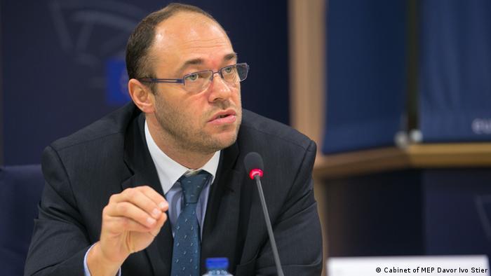 Davor Ivo Stier, kroatischer Abgeordnete im EU-Parlament