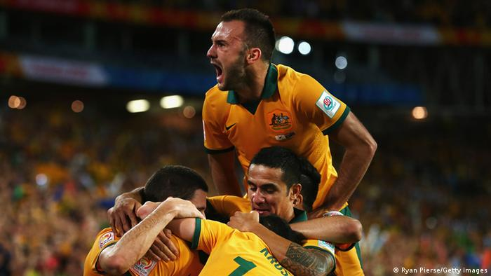Fußball Asien Cup 2015 Australien vs. Südkorea