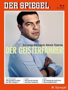 To εξώφυλλο του Spiegel με τον Αλέξη Τσίπρα