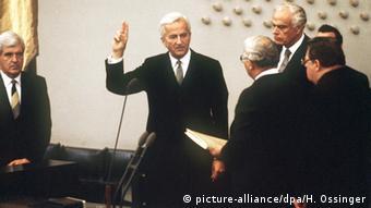 Vereidigung Richard von Weizsäcker 1984