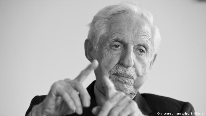 Wissenschaftler und Kunstmäzen Carl Djerassi 2013
