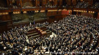 1.009 diputados, senadores y representantes de las regiones participaron en la votación.