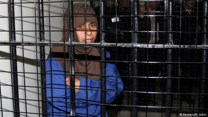 تصویری از ساجده الرشاوی، عضو القاعده، که سال ۲۰۰۶ میلادی گرفته شده است