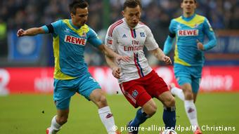 Bundesliga Hamburger SV vs. 1. FC Köln 31.1.2015