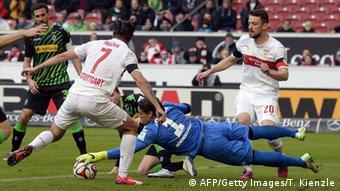 Bundesliga VfB Stuttgart vs. Borussia Mönchengladbach 31.1.2015