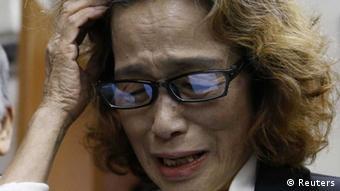 Junko Ishido, Mutter der japanischen IS-Geisel Kenji Goto