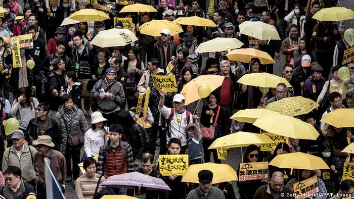 Hongkong - Demonstrationen für mehr Demokratie