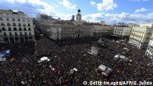 Spanien - Podemos Anhänger