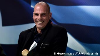 Griechischer Finanzminister Yanis Varoufakis (Foto: Getty Images/AFP/A. Messinis)