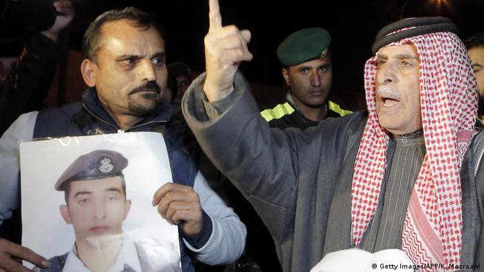 صفی الکساسبه، پدر معاذ الکساسبه، خلبان اردنی کشته شده توسط دولت اسلامی