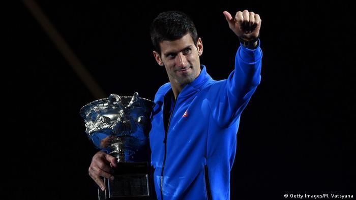 Australian Open - Gewinner Novak Djokovic