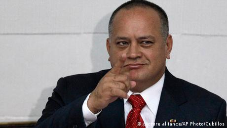 Diosdado Cabello (picture alliance/AP Photo/Cubillos)
