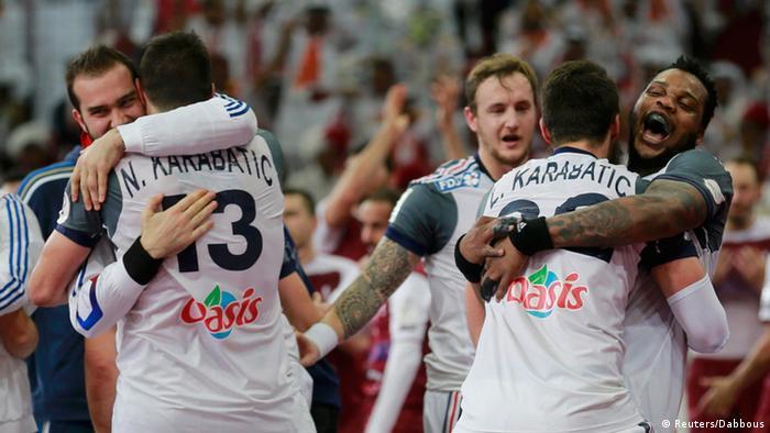 Frankreich gewinnt Handball WM 2015 in Katar