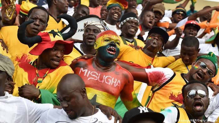 Ghana steht im Halbfinale des Afrika Cups 2015 (Sanogo/AFP/Getty Images)