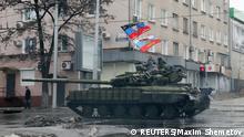 Gefechte in der Ukraine Donezk