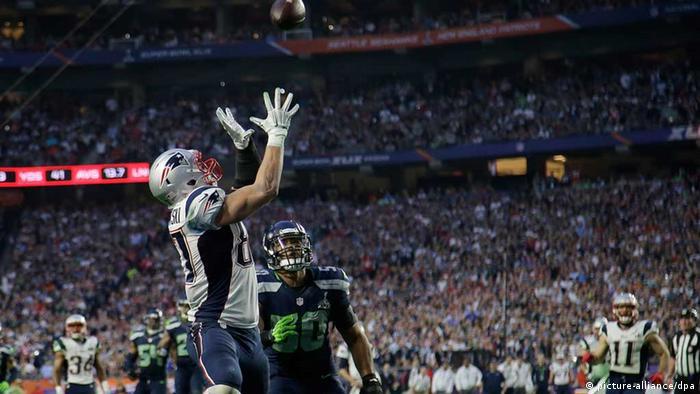Action beim Super-Bowl