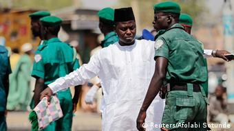 Boko Haram Flüchtlinge Nigria Kontrolle Militär Polizei