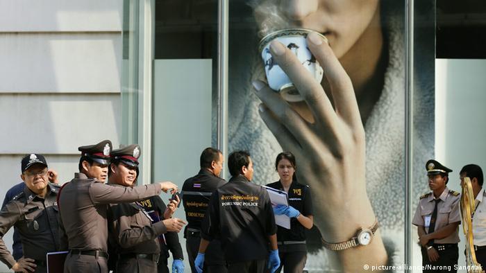 Thailand Bangkok Bomben Explosionen Anschlag 1.2.2015