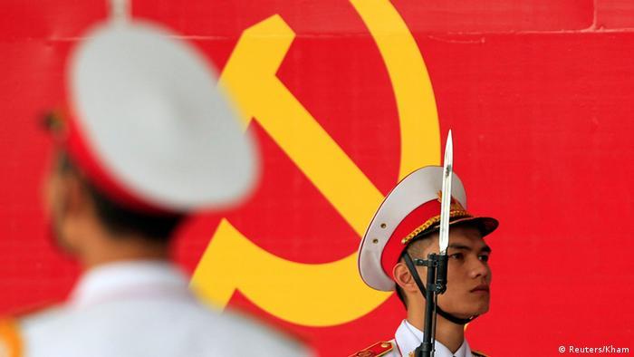 Feier zum 85. Jahrestag der Gründung der KP Vietnams 02.02.2015 (Reuters/Kham)