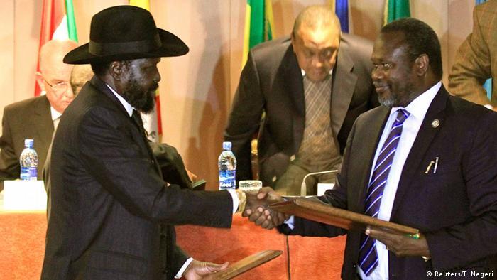 Südsudan Waffenstillstand 01.02.2014 Addis Abeba