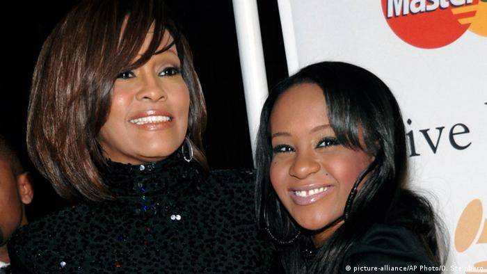 Whitney Houston mit Tochter Bobbi Kristina Brown