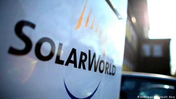 Logo Solarworld (picture-alliance/dpa/O. Berg)