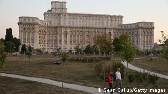 Palace of the Parliament in Bucharest, Copyright: Sean Gallup/Getty Images