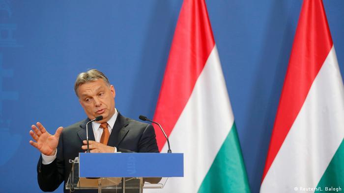 Merkel zu Gast bei Orban 02.02.2015 Budapest PK